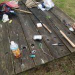 渓流釣り道具の説明